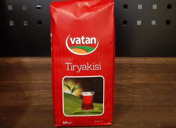 VATANÇAY TİRYAKİSİ SİYAH ÇAY 500 GR.