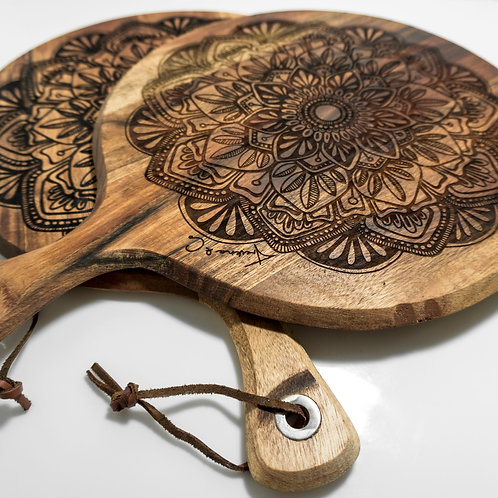 Mandala Cheese Boards