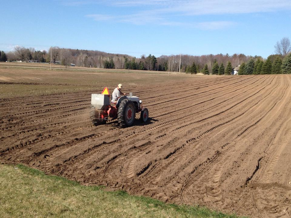 Prepping the Fields