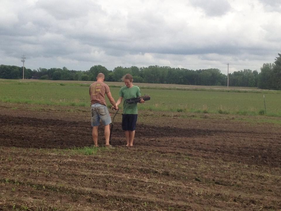 Transplanting Crops