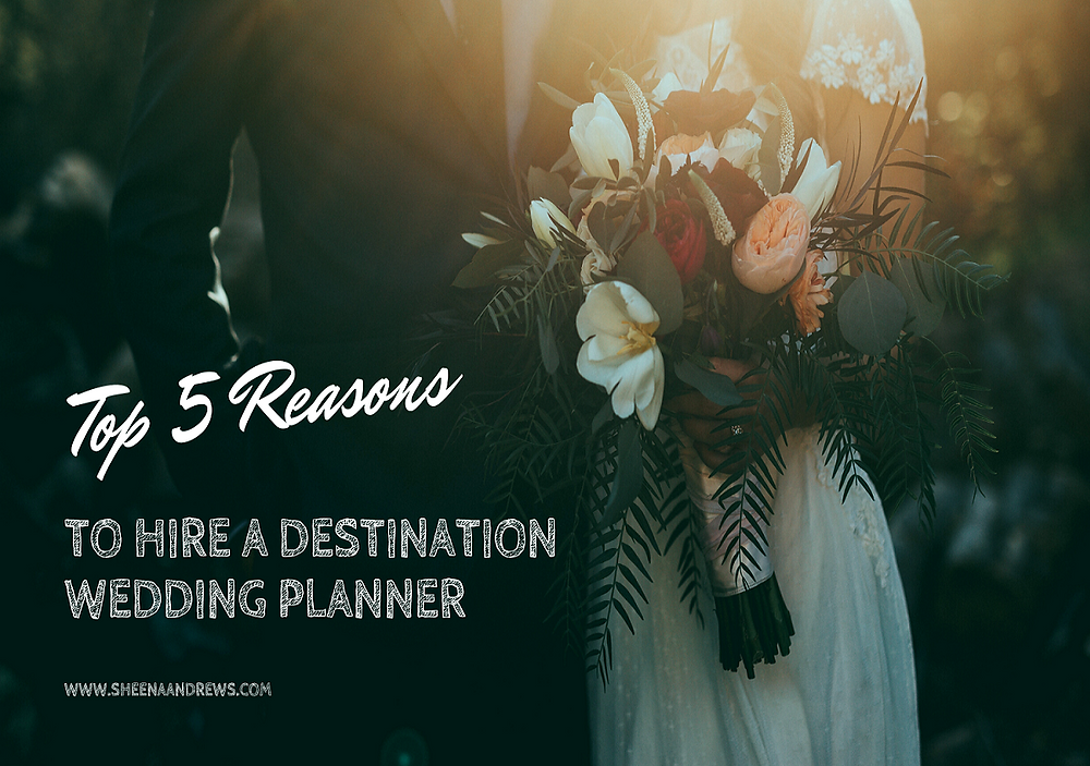 Blog Title graphic showing Bride & Groom standing together in subdued and romatic lighting.