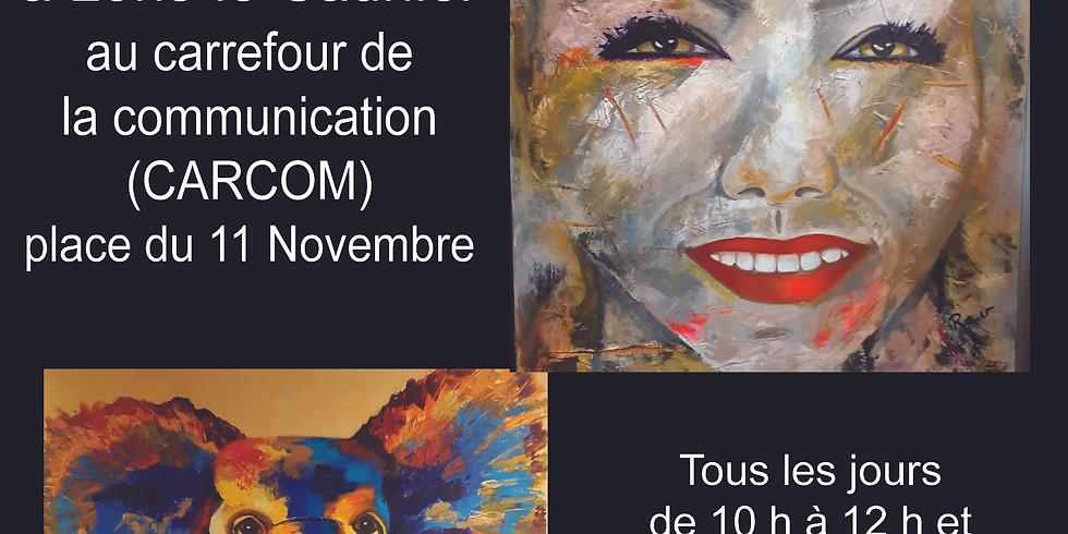 Exposition Evelyne ROUSSEL