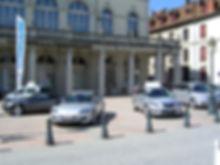 Parvis CARCOM, Office du tourisme, Lons le Saunier