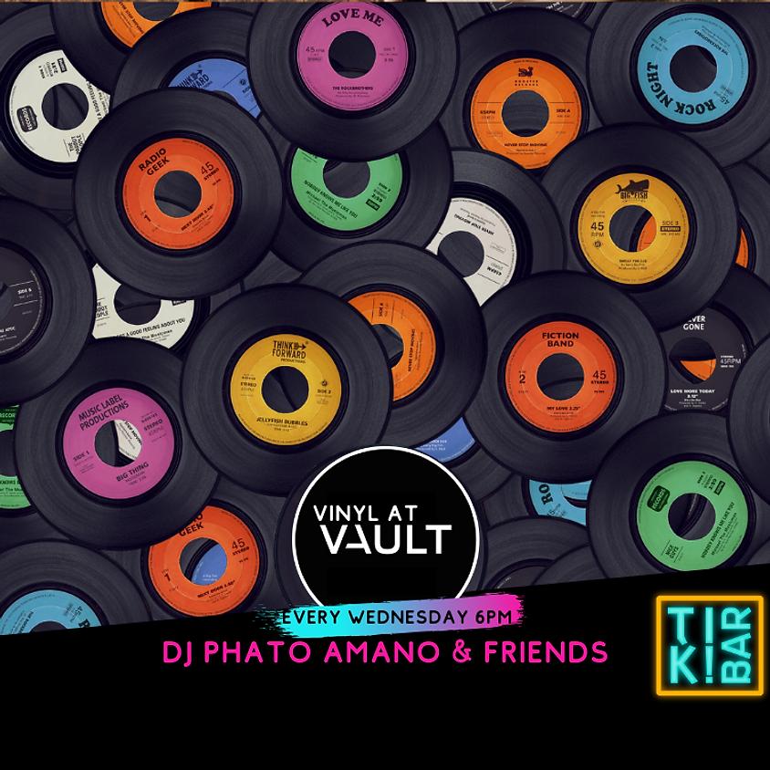 Wednesday - Vinyl DJ Phato Amano & friends