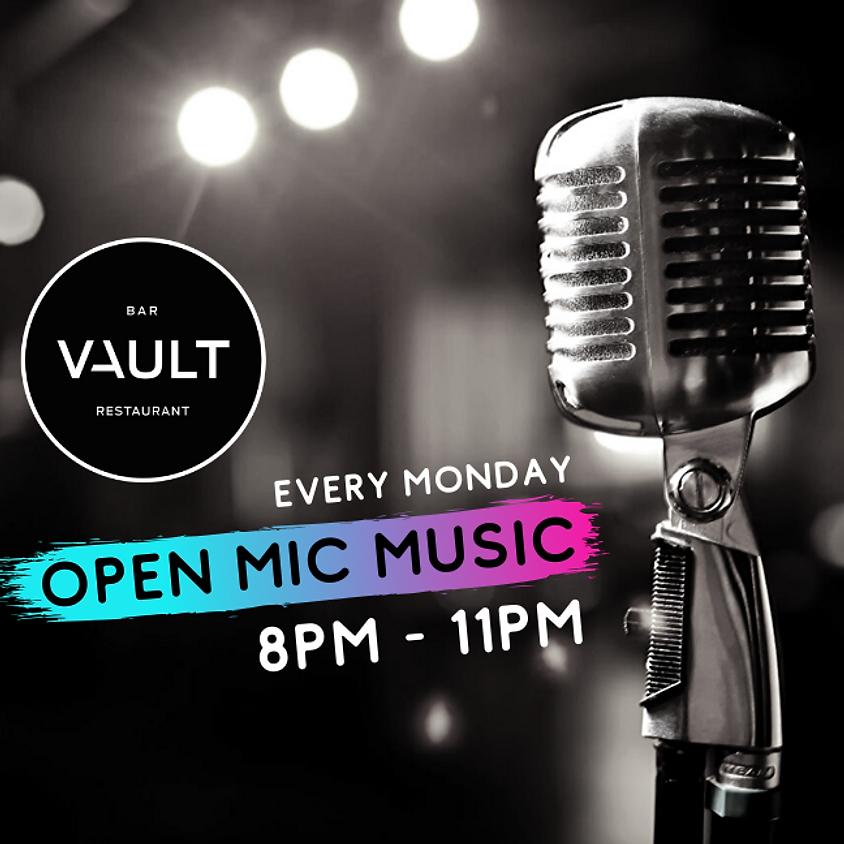 Monday - Open Mic Music