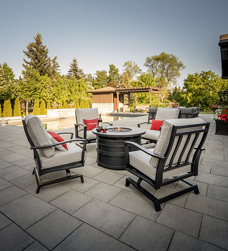 Adelaide Fire Pit Set