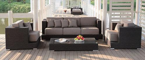 Bermuda Club Set with 3 seater sofa