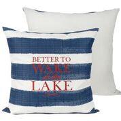 Throw Pillow - Better to Wake