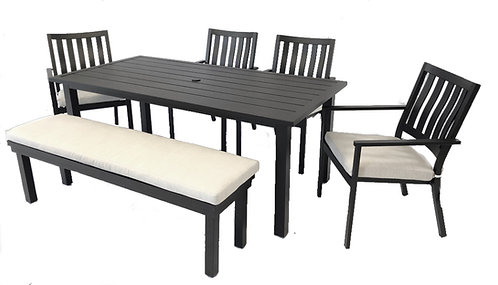 Myla Dining with bench