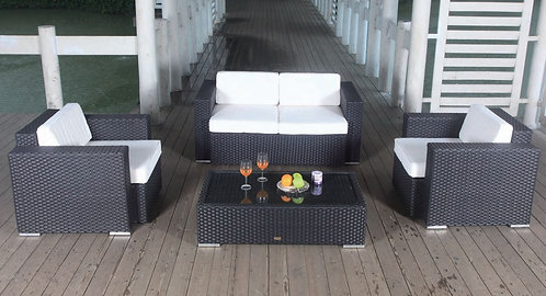 Bermuda Club Set with 2 seater sofa