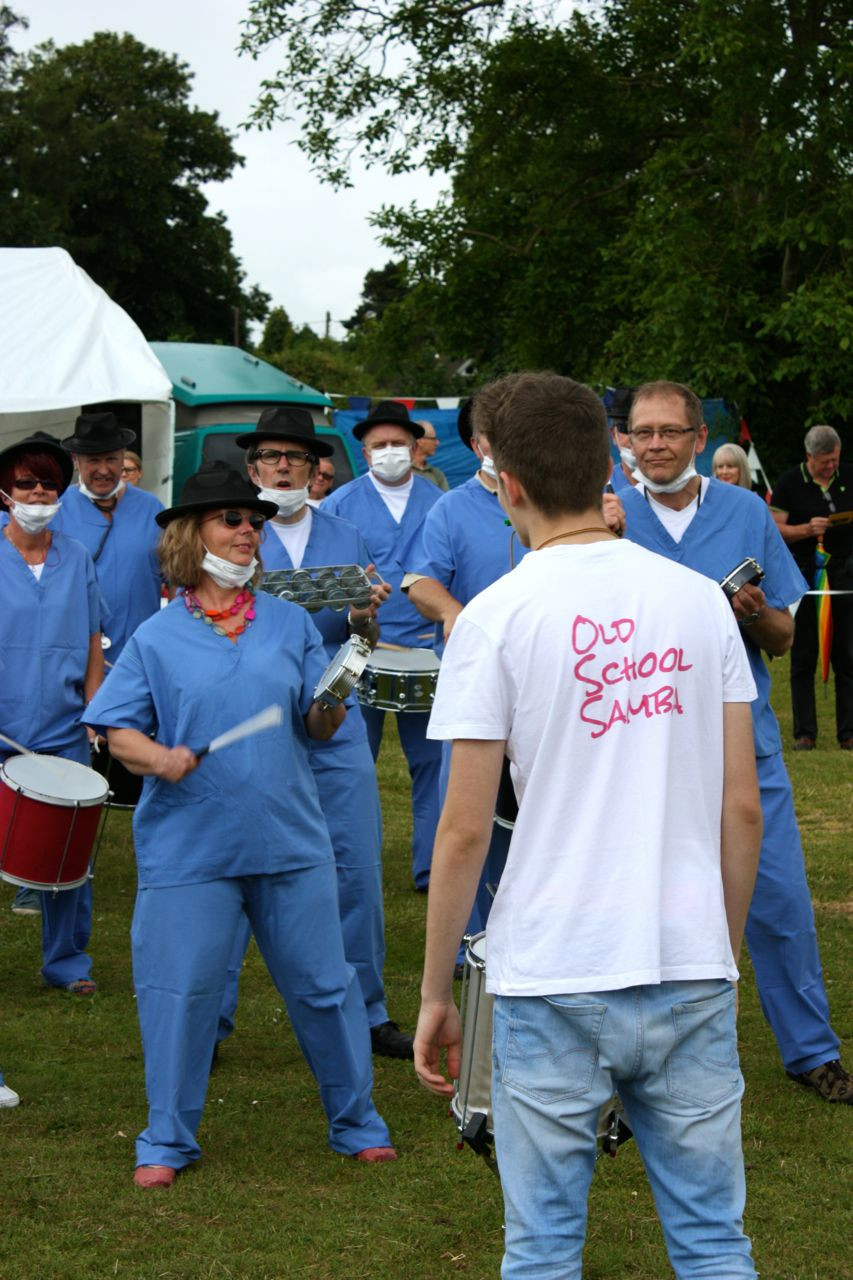 Old School Samba band