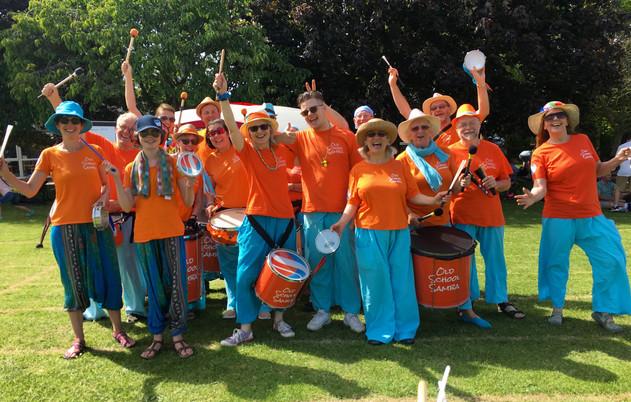 Old School Samba at the Palace Wood Festival