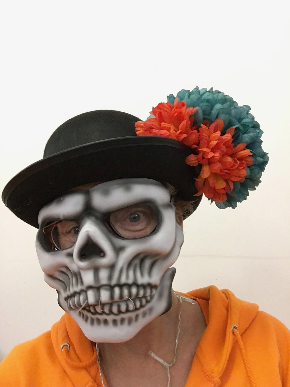 Old School Samba Rusthall Day of the Dead mask