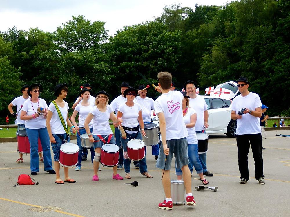 Old School Samba band
