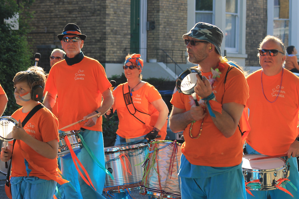 Old School Samba at Dover Town Carnival