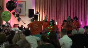 Old School Samba Halloween gig
