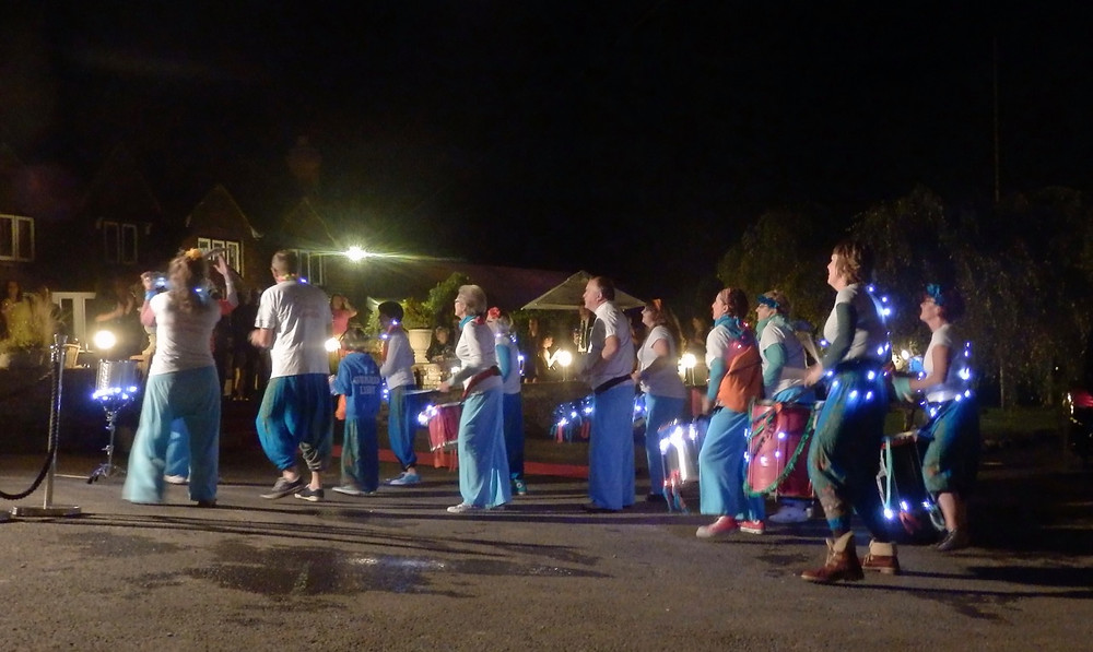 Old School Samba Wedding