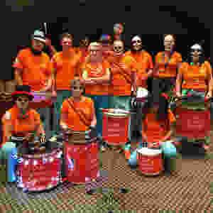 Old School Samba Halloween Faces