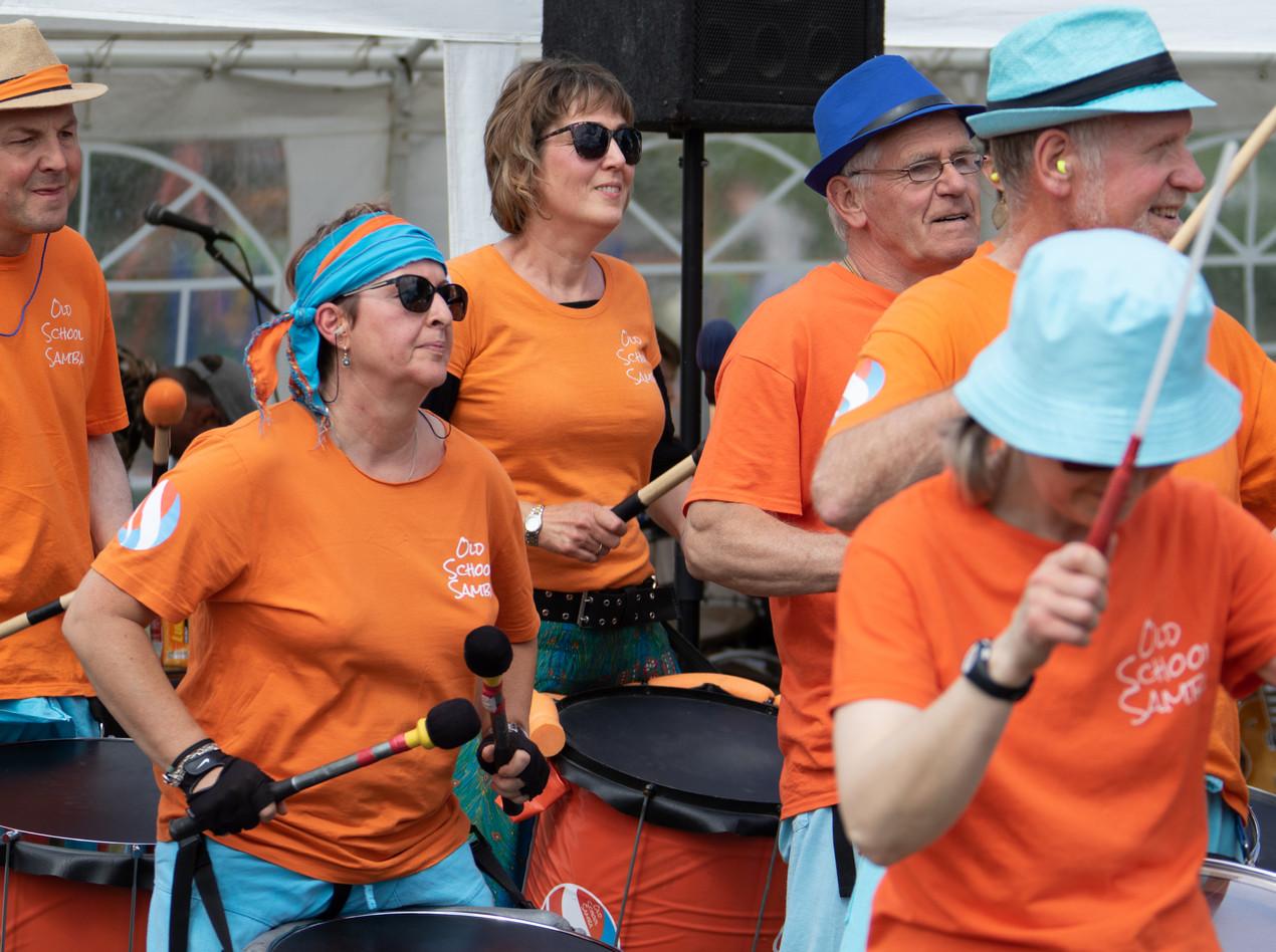 Old School Samba at the Fete de la Musique