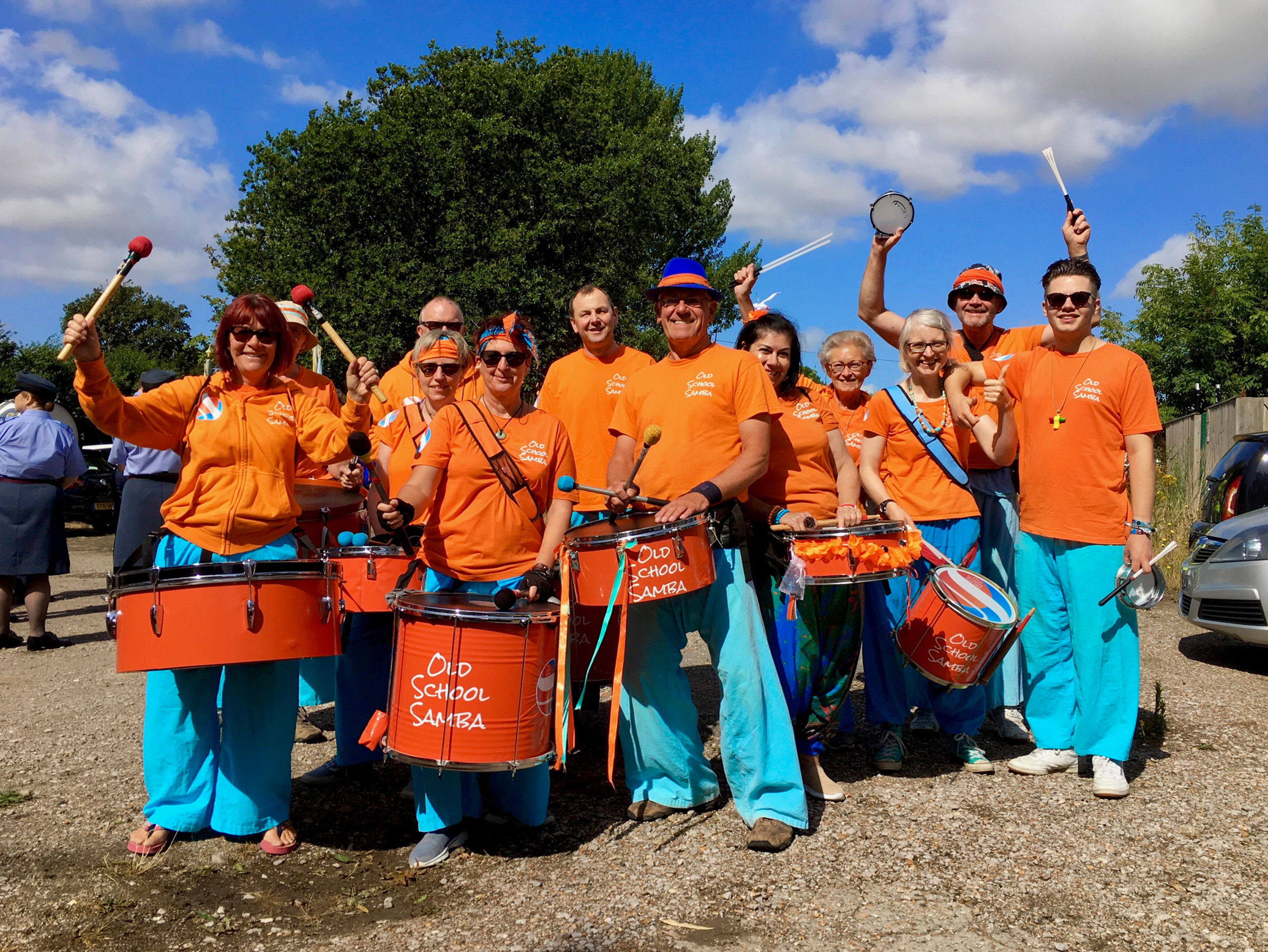 Old School Samba at the New Romney Country Fayre 2018