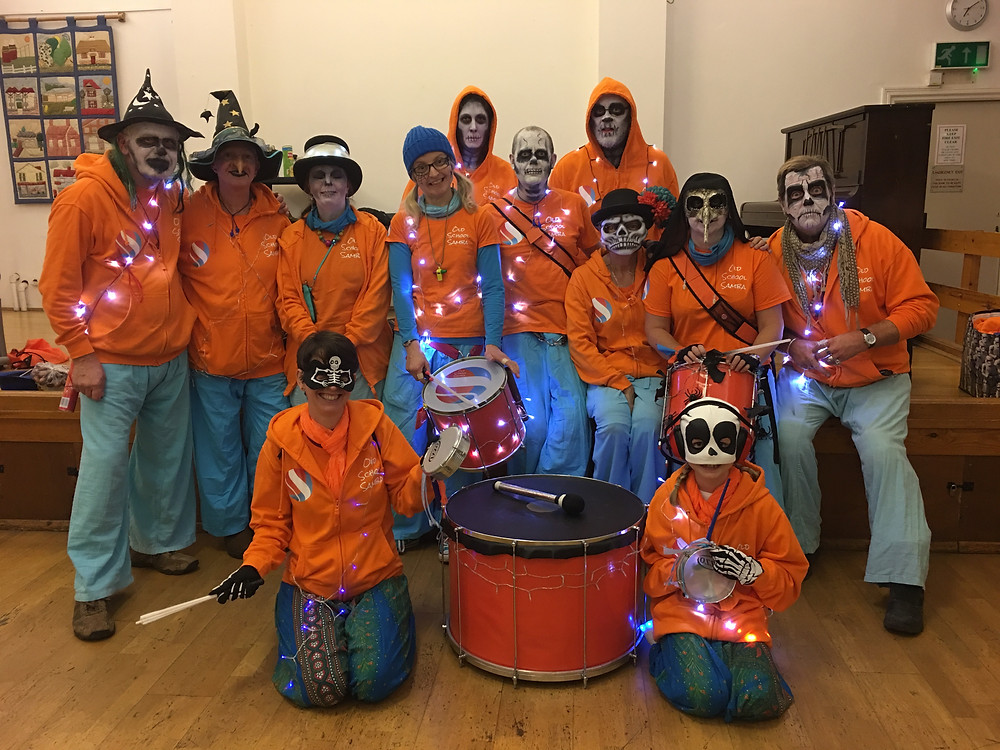 Old School Samba Rusthall Group shot