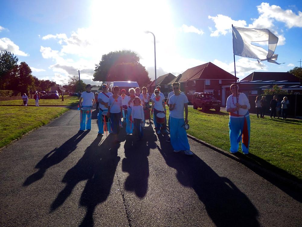 Old School Samba Band Aylesham Carnival Kent