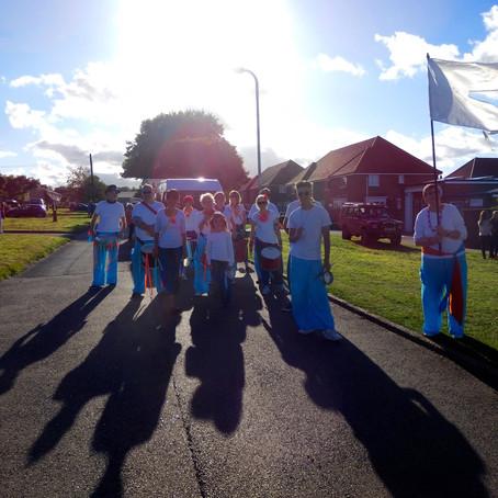 Aylesham Carnival Parade 2015