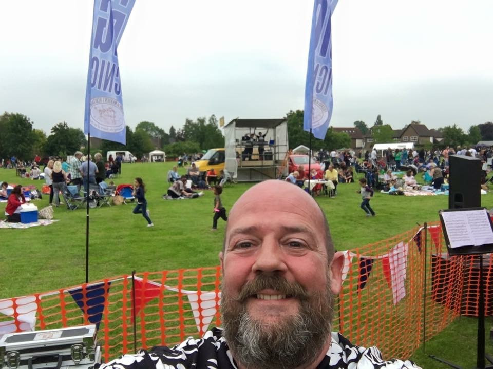 Mo (the organiser) selfie just before the event kicked off
