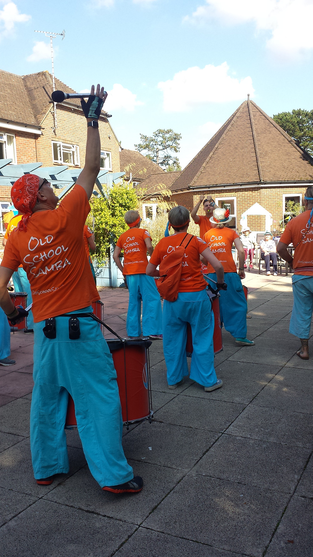 Old School Samba at the Hillbeck Residential Care Home