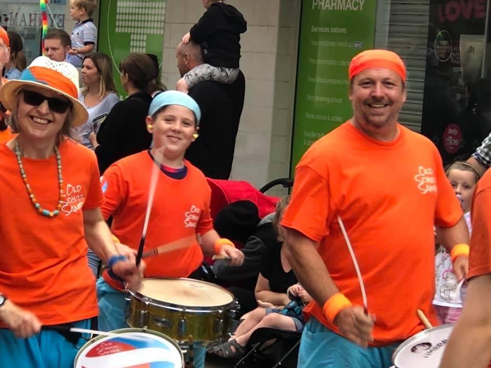 Old School Samba at Sheppey Carnival 2019