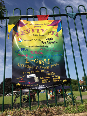 The Palace Wood Festival poster