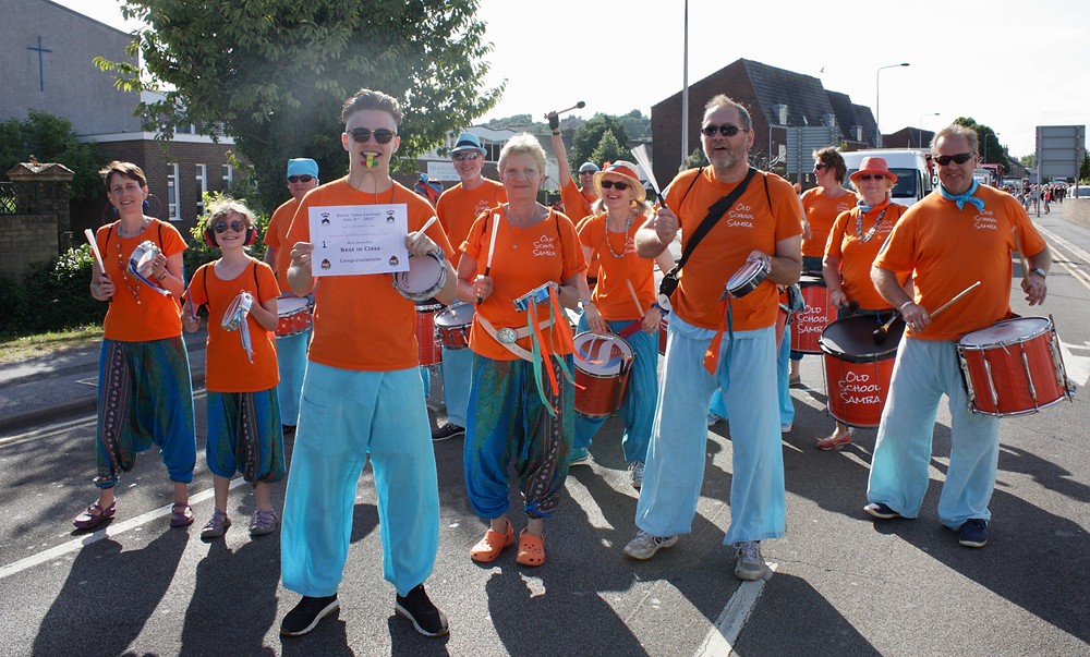 "Old School Samba ""Best in Class"" at Dover Town Carnival"