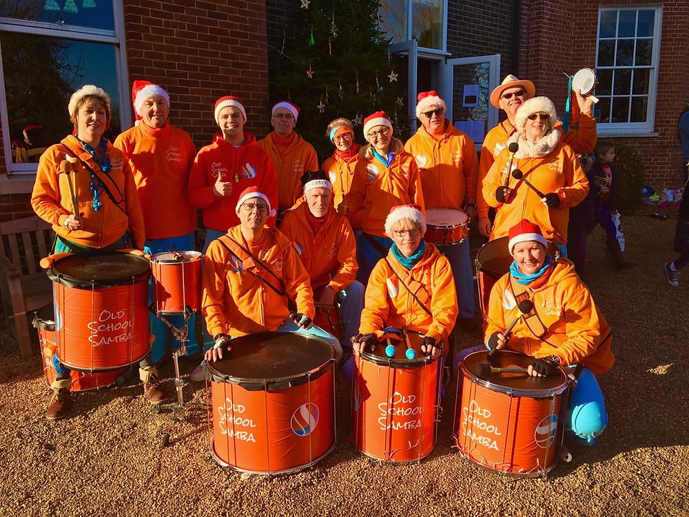 Old School Samba at Marlborough House School Christmas Fair