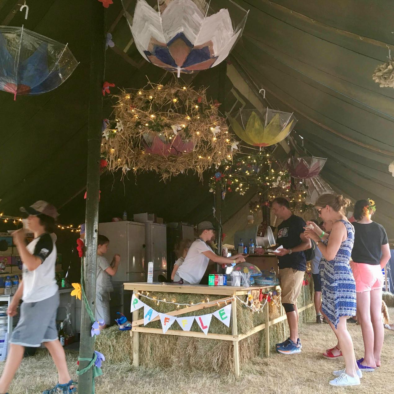 The fabulous bar at Littlefest 2018