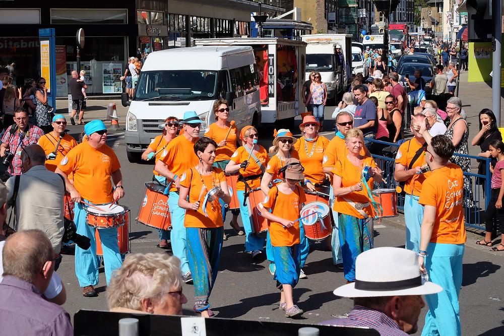 Old School Samba at Dover Town Carnival