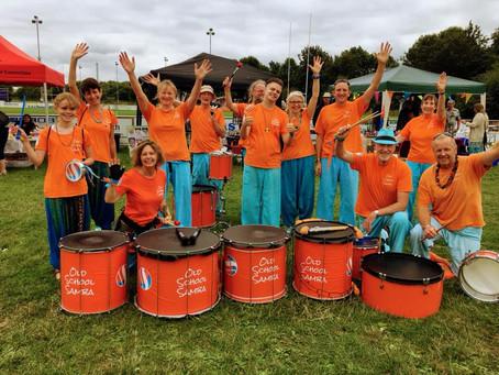 Samba at The Heart of Kent Hospice Family Fun Day