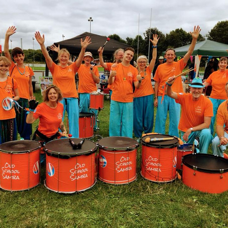 Samba at The Heart of Kent Hospice Family Fun Day