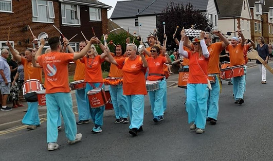 Old School Samba at Whitstable Carnival