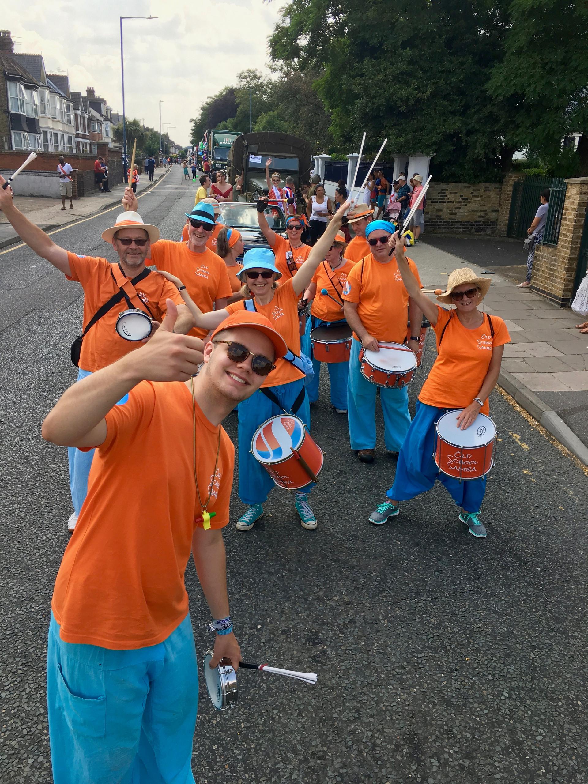 Old School Samba at the Northfleet Carnival