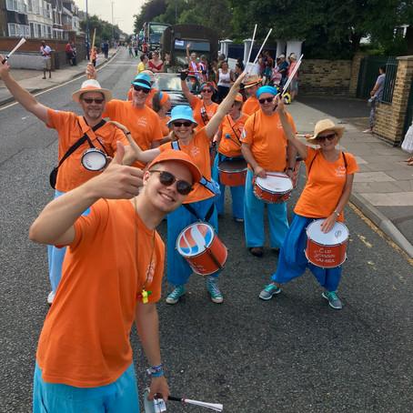 Northfleet Carnival parade 2018