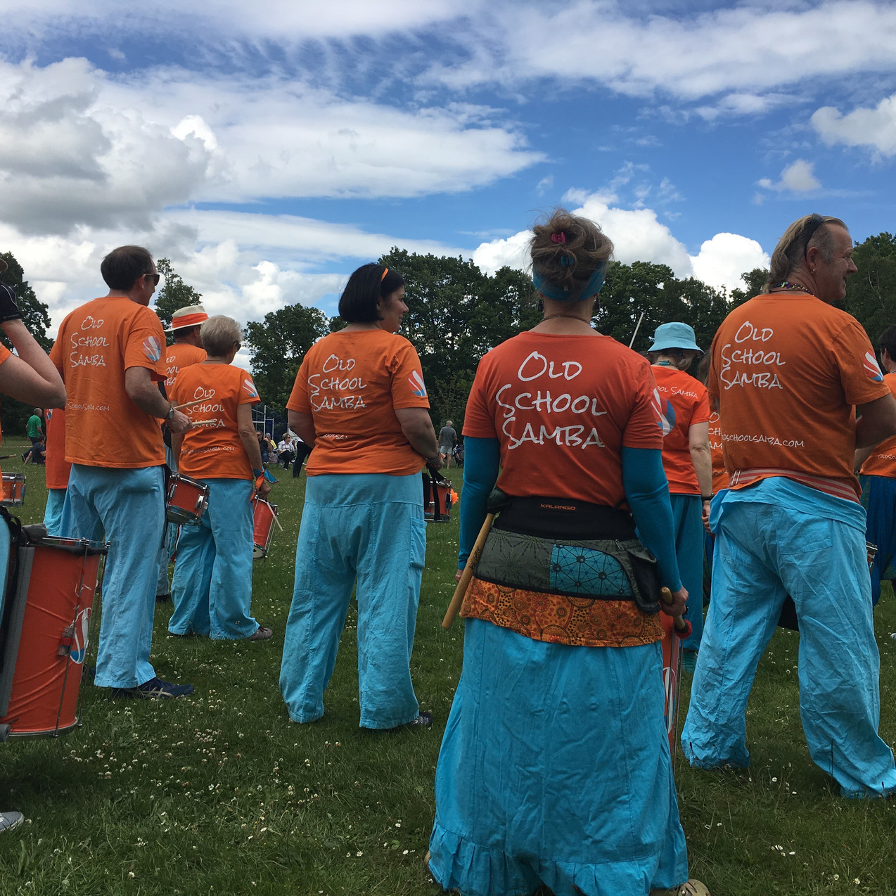 Old School Samba on the sports Field at Kingswood