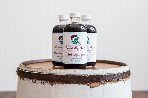 8 oz. Elderberry Syrup-    Temporarily Out of Stock- Will be back!