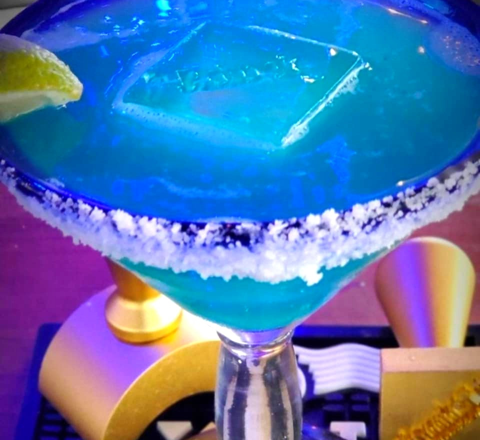 Handcrafted Signature Blue Margarita