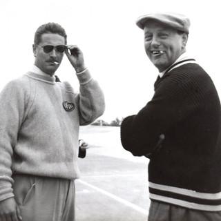 Jean Bouillard et André Louveau