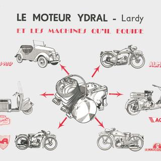 1949 Publicité de la Revue Technique Motocycliste