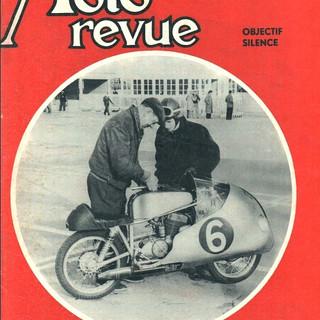 1957 Couverture de Moto Revue