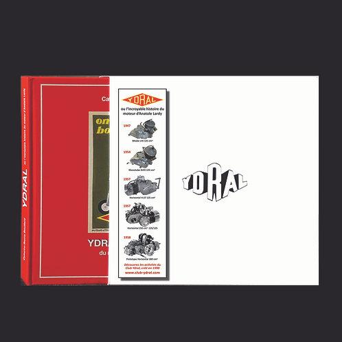 YDRAL - Livre + étui + marque-page.  Prix T.T.C.