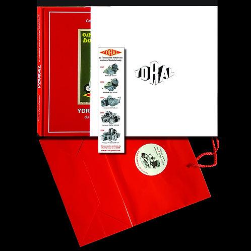 Le livre + étui + marque-page + sac - Prix T.T.C.