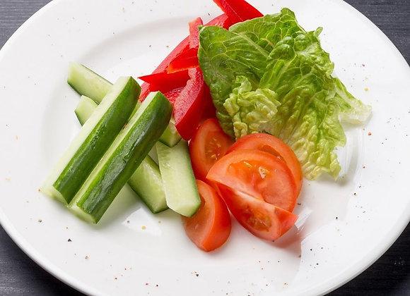 Гарнир из свежих овощей