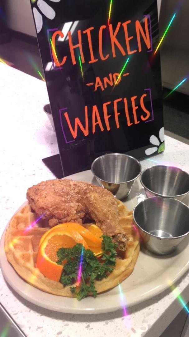 Chicken-n-Waffles